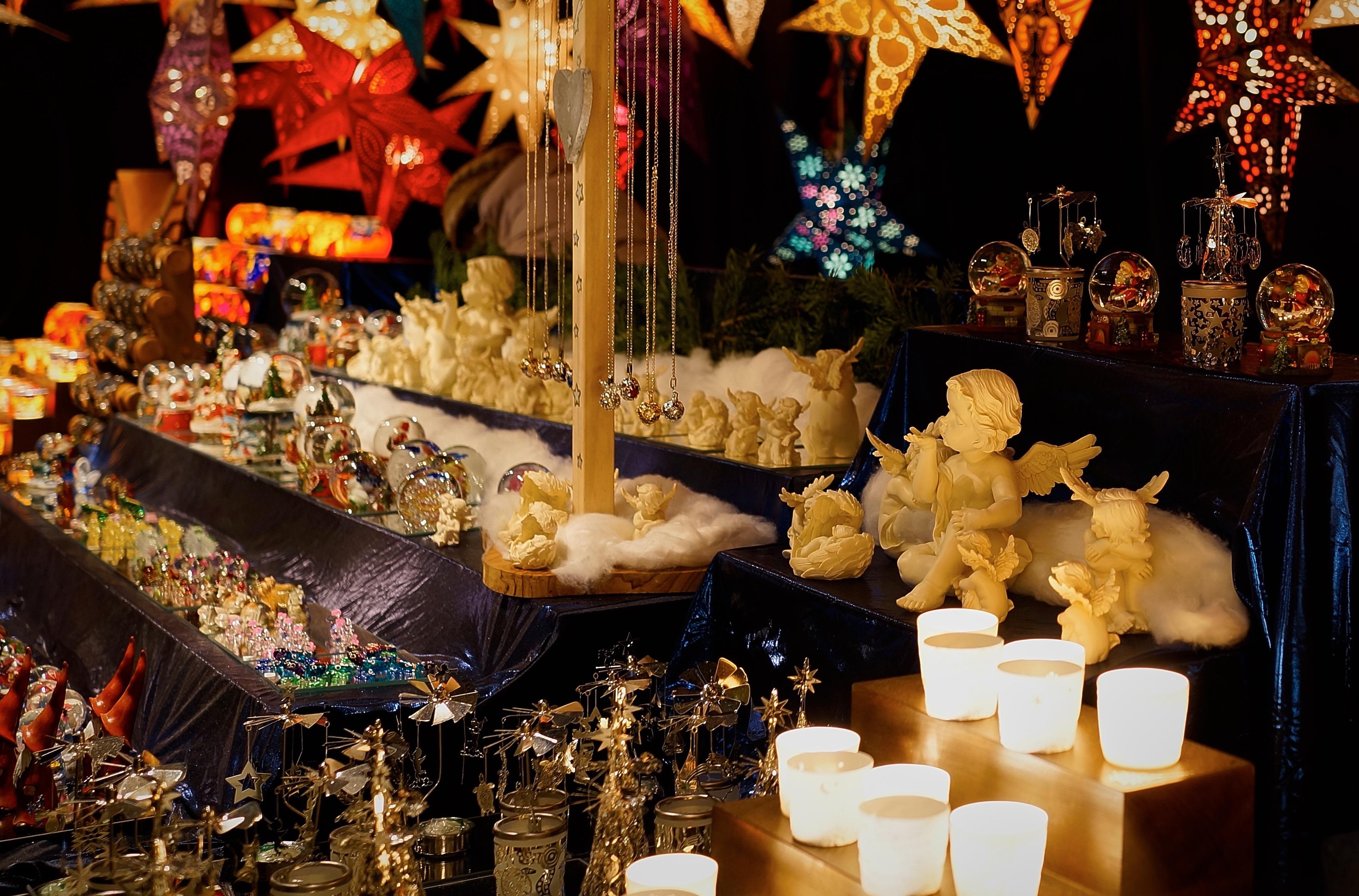 Kerstmarkten in Hamburg | foto door Michael Beyer | Standort Hamburg